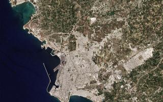 Latakia, fotografie aeriana