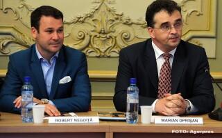 Robert Negoita, Marian Oprisan - AGERPRES