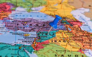 harta Siria Orientul mijlociu