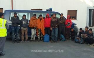 migranti prinsi de politia de frontiera