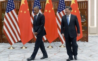 Barack Obama si Xi Jinping