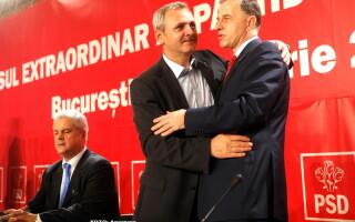 Liviu Dragnea, Mircea Geoana - AGERPRES