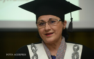 Ecaterina Andronescu, presedintele Senatului Universitatii Politehnice din Bucuresti
