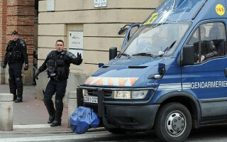 politie franceza in Toulouse