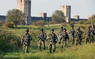 exerciţiu militar suedez în Gotland