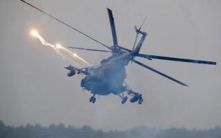 elicopter rusesc la Zapad 2017