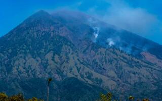 Vulcanul Mount Agung, Bali