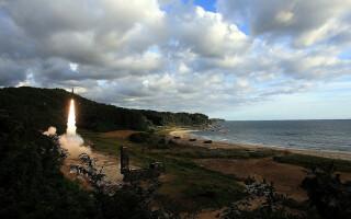 lansare racheta COreea