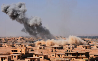 explozie in Deir Ezzor