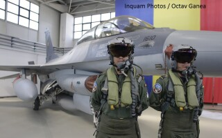 Ceremonia prilejuita de sosirea în ţară a primelor 6 avioane F-16 Fighting Falcon