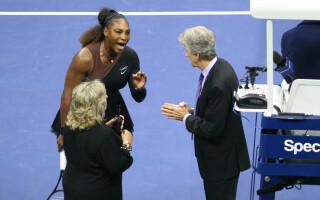 Serena Williams, furioasă la finala US Open