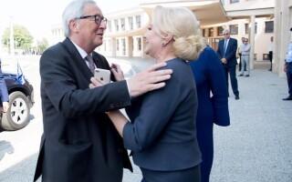 Jean-Claude Juncker, Viorica Dancila