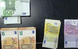 70.000 de euro descoperiţi de polițiștii de frontieră giurgiuveni, ascunşi pe corpul şi în bagajele a opt persoane dintr-un autocar