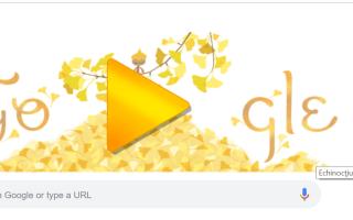 Google Doodle echinoctiul de toamna