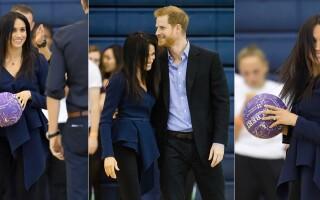 Ducele și Ducesa de Sussex s-au întrecut la netball