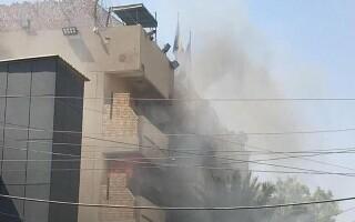 incendiu ambasada