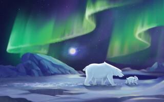 Aventurile lui Fram, ursul polar
