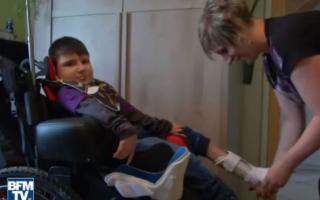 copil paralizat