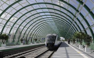 Testarea trenului Gara de Nord - Aeroportul Otopeni