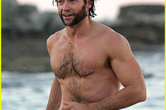 Hugh Jackman, idolul... barbatilor