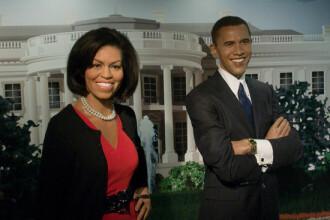 Barack si Michelle Obama, statui de ceara la Madame Tussauds!