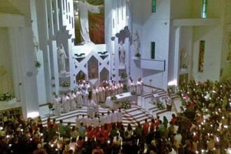 Credinciosii catolici au intrat in Saptamana Patimilor