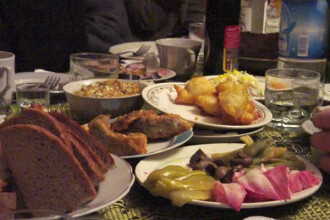 Secretul unui an reusit? O masa copioasa in noaptea de Revelion!