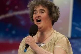 Susan Boyle a ridicat din nou sala in picioare! E in finala!