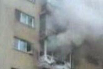 Incendiu intr-un bloc din Timisoara!