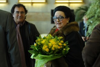 Montserrat Caballe, asteptata in Romania cu trandafiri galbeni!