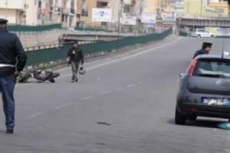 Un roman a accidentat mortal cu masina un politist italian