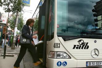 Traseele de noapte ale RATB, curse cu peripetii pentru calatori. Autobuzele, pline cu boschetari