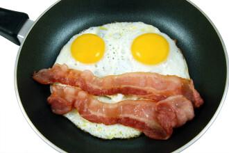 Sunca si ouale servite la micul dejun, cel mai sanatos mod de a incepe ziua