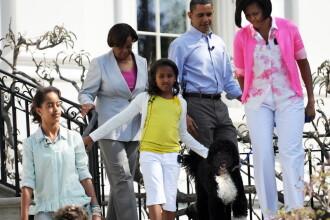 Obama si-a trecut cainele de 1.600 de dolari in declaratia de avere