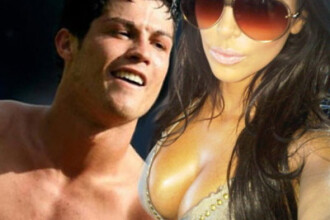 Un fleac. S-au combinat. Cristiano Ronaldo, derby cu Kim Kardashian
