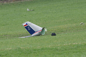 Un avion a explodat in zbor deasupra Austriei
