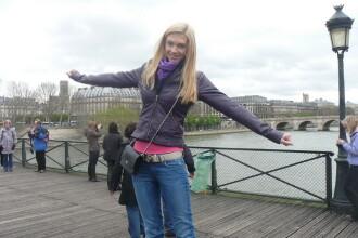 Turism de vis pentru Madalina Draghici: cura de ingrasare la Paris