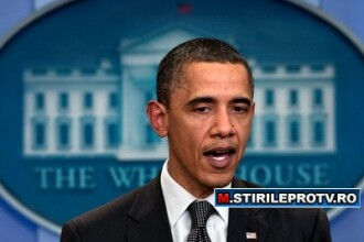 Barack Obama afirma ca moartea lui Ghaddafi marcheaza