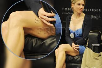 Ce n-a pierdut Bradley Cooper: Renee Zellweger, distrusa de diete