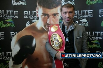Lucian Bute va boxa pentru prima oara in Romania pe 9 iulie