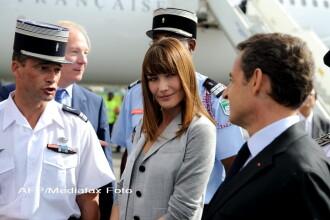 Carla Bruni si Nicolas Sarkozy vor avea un baietel