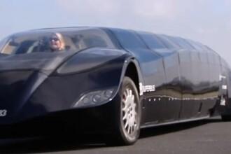 Super-autobuzul. Atinge 250 de km/h si a costat 13 milioane de euro