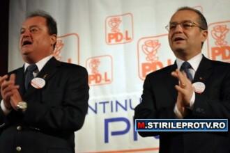 Blaga si Boc se bat pe sefia PDL, dar au acelasi obiectiv: guvernarea