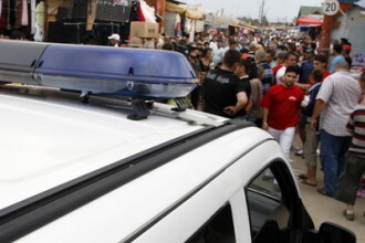 Razie de amploare in comuna Voluntari. Politistii au confiscat marfa de 5 milioane de euro