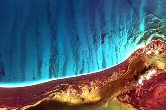 Satelitii au fotografiat