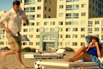 Voluptuoasa Sofia Vergara, surprinsa la plaja de David Beckham. VIDEO