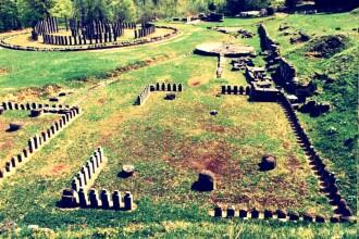 Intoarcere in timp la Sarmizegetusa Regia, cetatea Blidaru. Turistii au vizitat satul daco-roman
