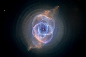 Imagine spectaculoasa cu Nebuloasa Ochiul Pisicii. FOTO
