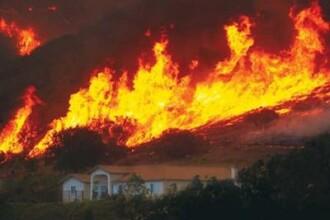 Incendiile de vegetatie, scapate de sub control in Canada