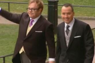 Elton John si partenerul sau de viata, David Furnish, se vor casatori
